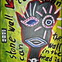 A stone wall can tear down, the wall in the head is indestructible - Acryl auf Leinwand - 60 x 80 cm - by Don14