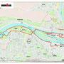 Laufstrecke (Run Course) -  Ironman Regensburg