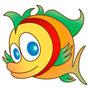 Yellow Funky fish