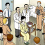 「月刊医道の日本」800号記念号イラスト