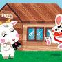 『チャイルドブック ぷう1月号』挿絵/チャイルド本社