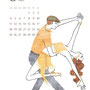 2013 カレンダー 8月