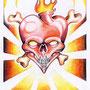 Skizze 6 Buntstift 2002