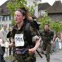 Laufen mit Hingabe - die Jüngste im Damenfeld, Claudia Felber aus Attiswil.