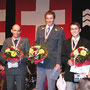 Kat. M30 (v.l.n.r.): Ruedi Walker (2.), Jörg Hafner (1.) und Martin Schmid (3.).
