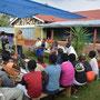 Treffen der Pflegeltern und Kinder in Shimanyero...