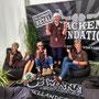 Bordesholmer LandFrauen auf dem Wackenfestival im Juli 2019