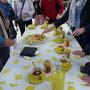 Bordesholmer Landfrauen, Reise in die Toskana 3. Tag  - Landgut mit Zitronenanbau