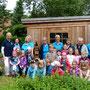 Bordesholmer Landfrauen; Übergabe Insektenhotel an Kita Birkenweg
