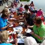Bordesholmer Landfrauen; Fahrradtour um Bordesholm im Juli 2017