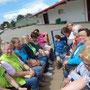 Bordesholmer Landfrauen, Erdbeerfahrt zu Kaack und Landcafé Mühlenholz im Juli 2018