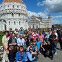 Bordesholmer Landfrauen, Reise in die Toskana 1. Tag - Gruppenbild