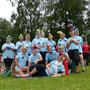Bordesholmer Landfrauen; Drachenbootrennen in Neumünster im Juli 2016