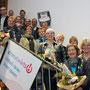 """Bordesholmer LandFrauen; Verleihung der Sonderpreise bei der Aktion """"stromabwärts"""" im Februar 2017"""