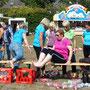 Bordesholmer Landfrauen; Olympiade beim Wattenbeker Dorffest im  September 2018