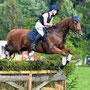 Maddox mit seiner Reiterin Antje Hochkirch