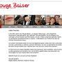 Rouge Baiser - alte Webseite