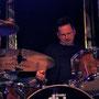 ...und an den Drums: Dieter Steinmann