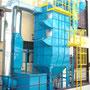 Impianto trasporto pneumatico polveri da confezionamento - Disegno e progettazione in collaborazione con Neuberg S.r.l.