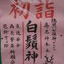 たけさん:白鬚神社初詣, 2019年1月1日(火)