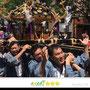 浦安當穆 坂本真実さん:浅草三社祭 宵宮 町内神輿連合渡御、2018年5月20日、千草町会