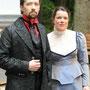 Dracula (Holger Schlosser) & Mina (Carolin Olbricht) kommen sich näher | Foto: Jürgen Meyer