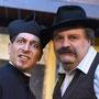 Ständig im Clinch: Don Camillo (Sascha Diener) und Bürgermeiter Peppone (Andreas Pedretti) | Foto: U. Pacher
