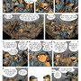 Extrait de Tripallère et Troudobu - projet de BD sur la 1ère Guerre mondiale