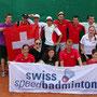 Schweizer Team an der EM 2014 in Warschau (Polen)