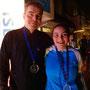 Bronzemedaille-GewinnerIn im Mixed Doppel: Ladner/Ladner