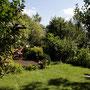 Garten von der Seite