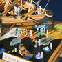 35-45 菱垣廻船「豊晴丸」  HOUSEIMARU  年代   17世紀     船籍  日本    縮尺 1/60     素材   自作   Scratch built    製作者  中園 利孝  Toshitaka Nakazono