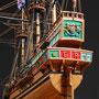 34-9 ゴールデン・ハインド GOLDEN HIND  国 籍   nationality     イギリス 建造年  age  1577 縮 尺   scale  1/53  製作方法 kit 加藤 允 Makoto Kato