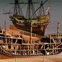 31-02 ゴールデンハインド2隻 GoLDEN HIND  1588年 イギリス  1/53  マモリ社 安藤雅浩 Masahiro Ando