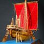 34-2 ファラオの船 Pharaoh's Ship  年代 BC2700  エジプト 縮尺  1/50 製作方法  キット  高橋 宏 Hiroshi Takahashi