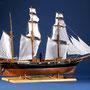 35-39 咸臨丸 KANRINMARU   年代   1855     船籍  日本    縮尺 1/50     キットメーカー ウッディジョー Woody Joe     製作者  志村 健次  Kenji Shimura