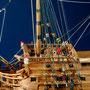 35-40 ハンブルグ HAMBURG   年代   1667     船籍  ブランデンブルグ    縮尺 1/50     キットメーカー コーレル COREL     製作者  和田 元夫  Motoo Wada