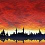 アラブの赤い空
