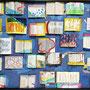 「地図を持たない旅人の標本」 ミクストメディア 130×160cm