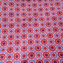 Kreise u Kringel lila-rot-pink - Lillestoff