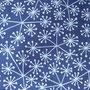 Blütendolden blau-weiß Jersey (Lillestoff)