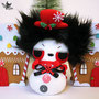 Spooky snowman
