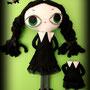 Wednesday Addams y Marie Antoinette