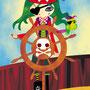 La pirata Carlota y la lora Nicereta