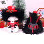 Spooky snowman & Krampustree