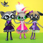 Raccooral, Mousebelle & Pugtricia