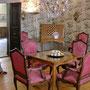 Wohnzimmer in Goethes Geburtshaus