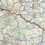 Die GPS_Aufzeichnung unserer Tour