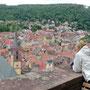 Blick von der Burg Wertheim