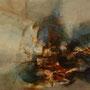 ≪華から派生する真実または虚栄もしくは現実≫ 2009 181.8×227.3 2枚1組  油彩、綿布・パネル